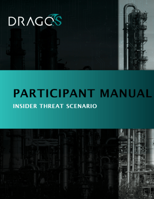 cover graphic for Dragos Tabletop Exercise Participation Manual.
