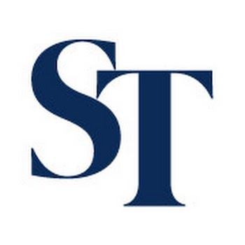 a logo from The Straits Times