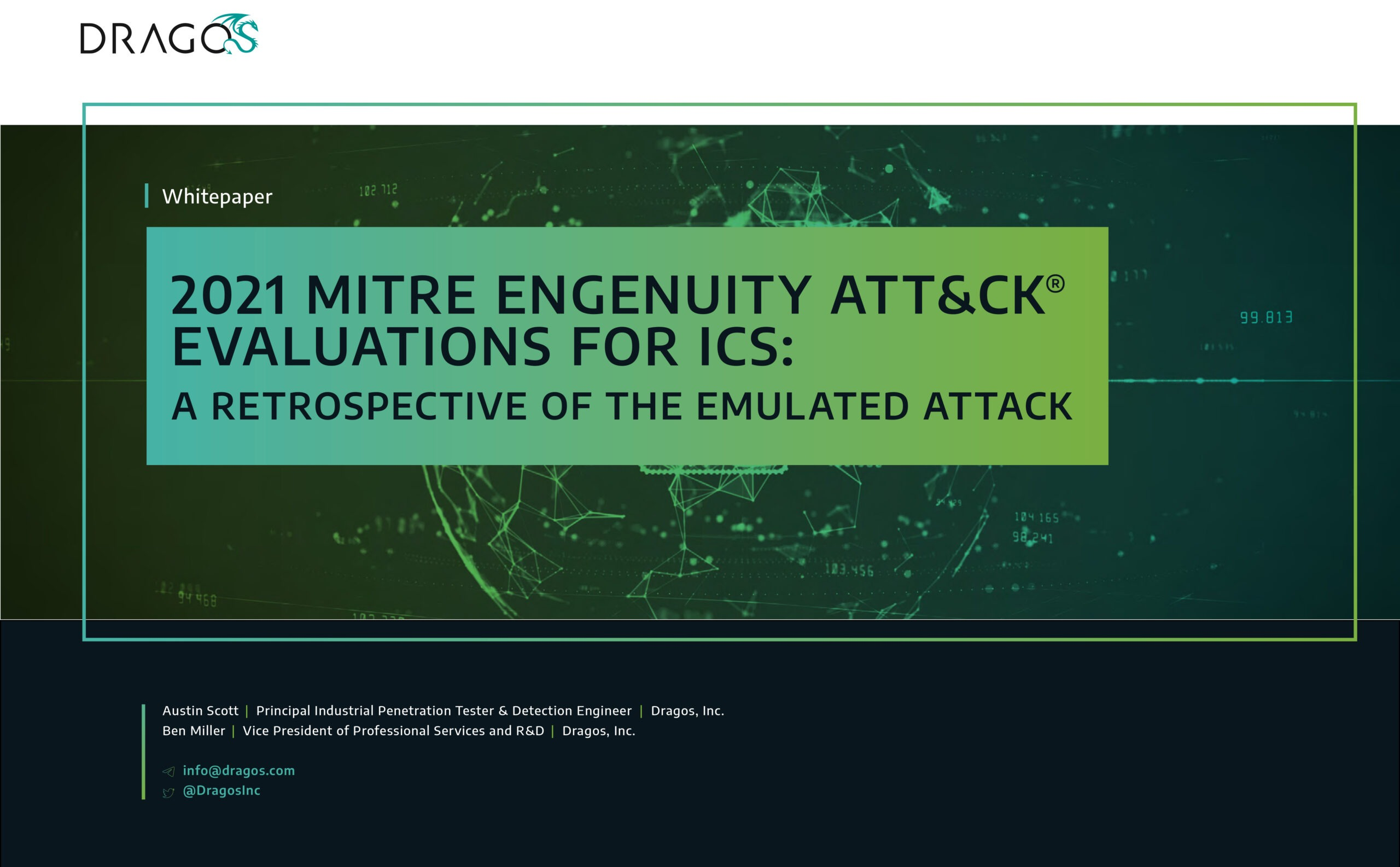 Cover photo for 2021 MITRE Engenuity ATT&CK® Evaluations for ICS