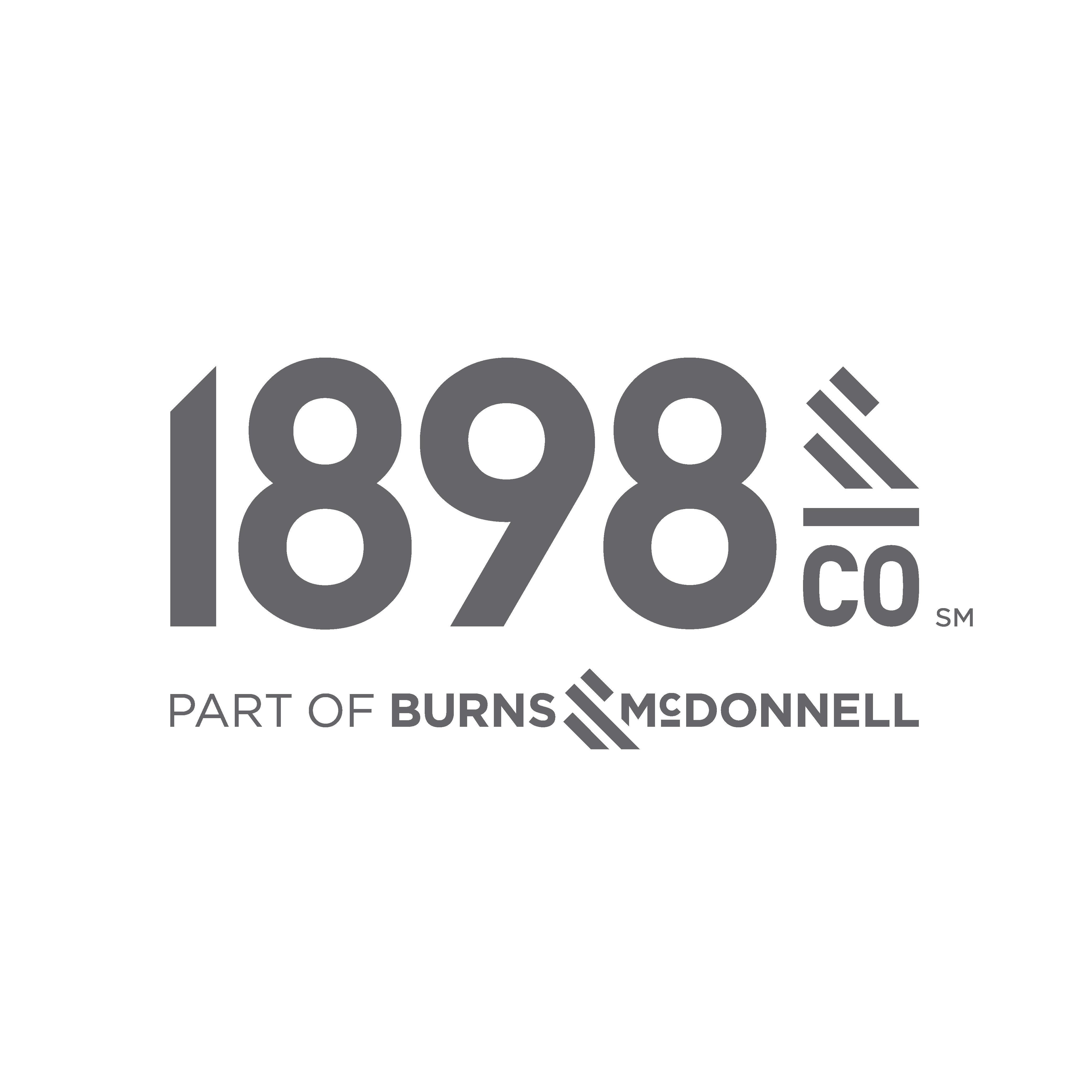 1898 & Co. logo in grey