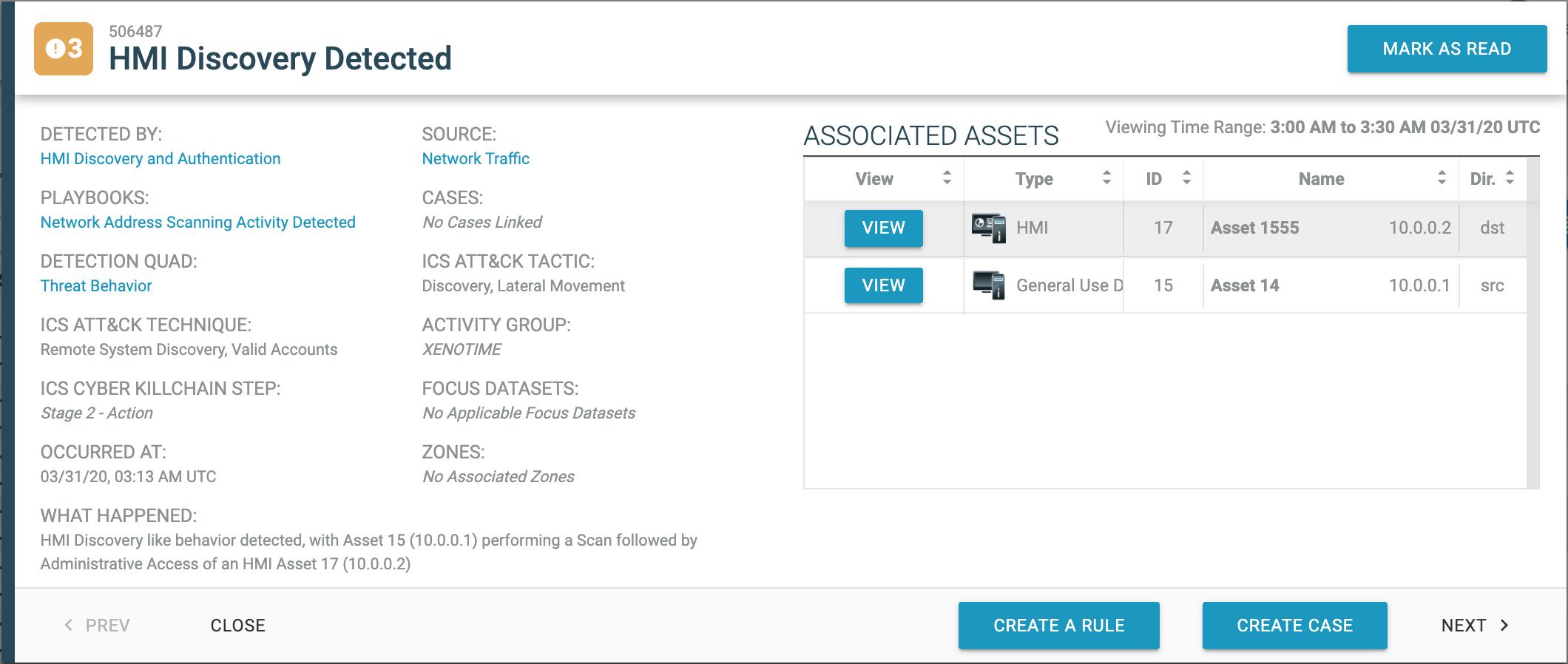 HMI Discovery Detected screenshot