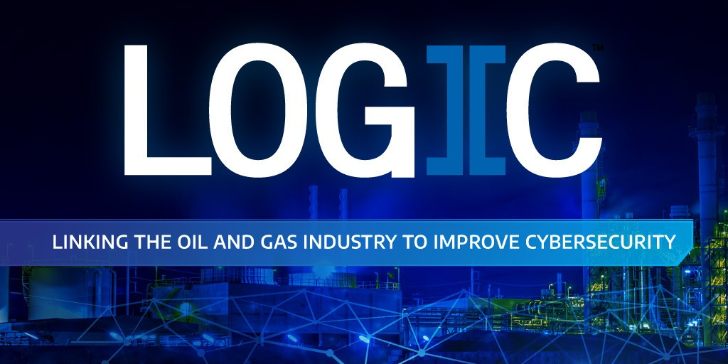 A banner that says Logiic linking the oil and gas industry to improve Sensor Level Cybersecurity