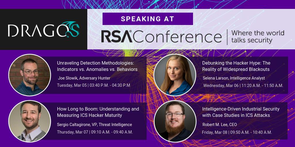Dragos 2019 RSA Speakers