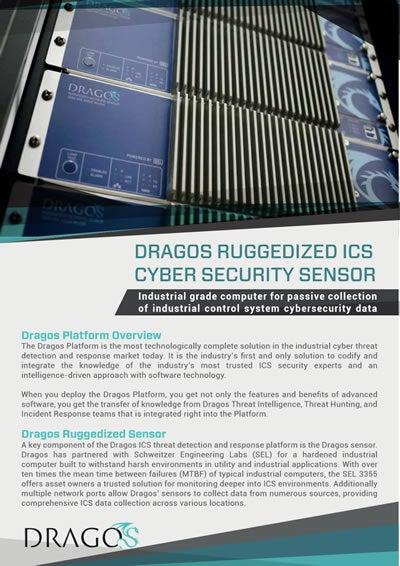 Dragos Ruggedized ICS Cyber Sensor