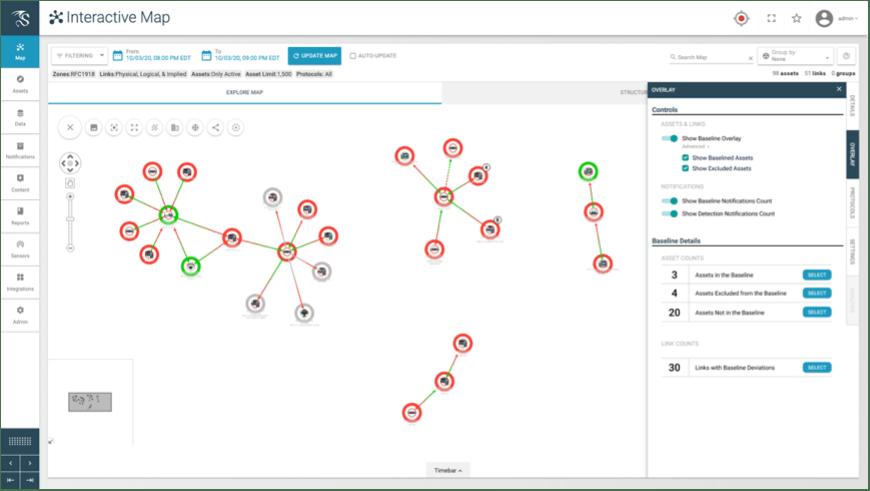 Dragos Platform - Interactive Map