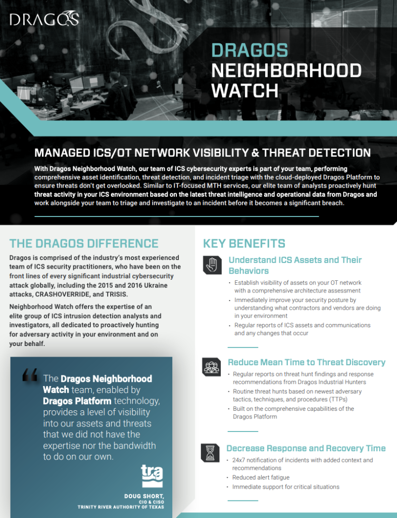 Neighborhood Watch Datasheet