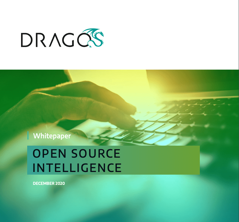 Cover for Open Source Intelligence Whitepaper from Dragos. December 2020