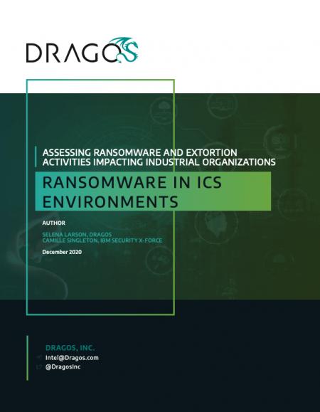 Ransomware in ICS Environments