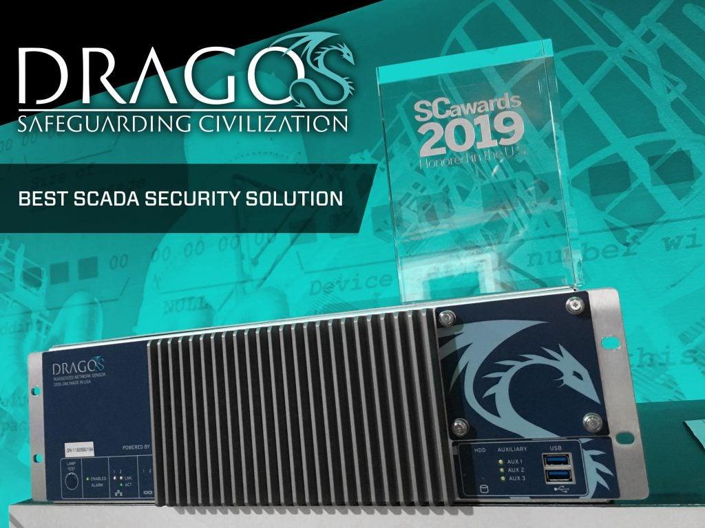Dragos wins SC Award
