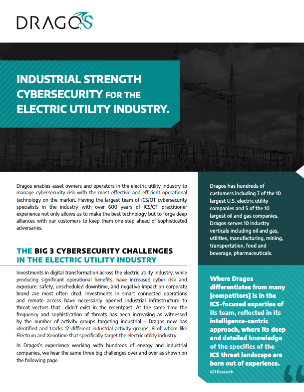 Electric Overview Datasheet